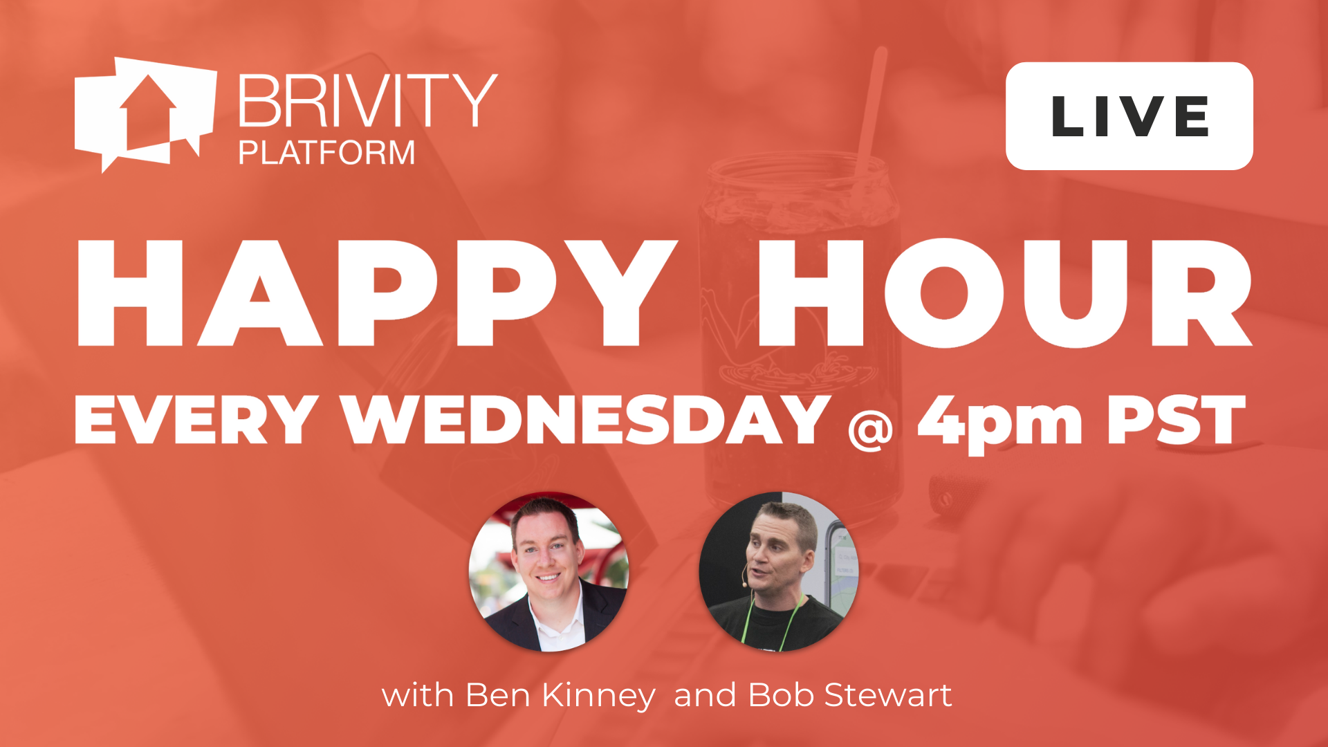 Copy of Brivity - Happy Hour every Wednesday