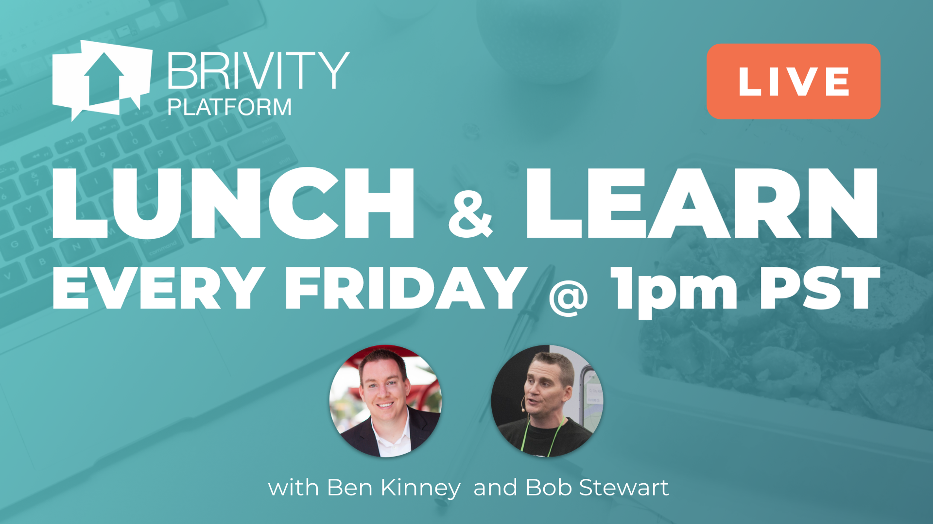 Copy of Brivity - Lunch & Learn every Friday